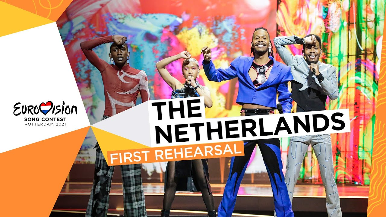 Jeangu Macrooy - Birth Of A New Age - First Rehearsal - The Netherlands 🇳🇱 - Eurovision 2021