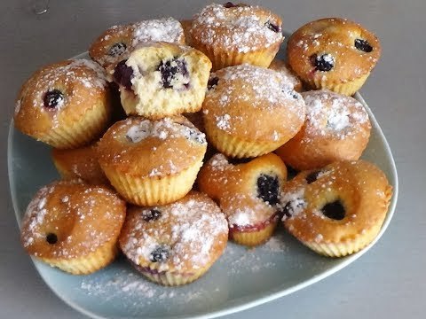 Маффины к чаю. Самый простой и вкусный рецепт!!! Маффины с виноградом по - турецки. (Muffins)