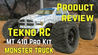 Tekno MT410 1/10th Electric 4×4 Pro Monster Truck Kit - Product Review