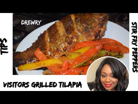 HOW TO PREPARE TILAPIA AND STIR FRY FOR YOUR VISITORS???