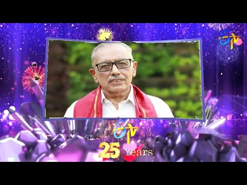 Etv 25th Anniversary | Former CEO ETV Network / Channel Head First India Jagdeesh Chandra wishes