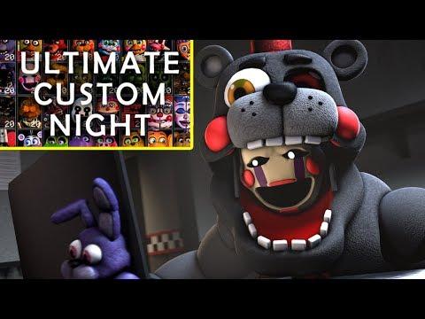 Ultimate Custom Night Trailer | LEFTY REACTION