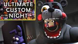 Ultimate Custom Night Trailer LEFTY REACTION
