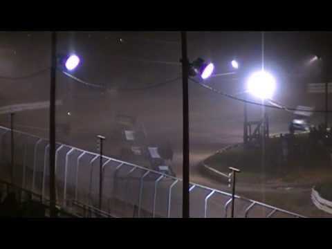 Port Royal Speedway 410 Sprint Car Highlights 4/18/09