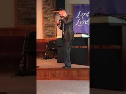 Wesley Ward Preaching On Noah's Faith