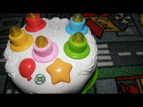LeapFrog Counting Candles Birthday Cake Anzsys Toy Videos