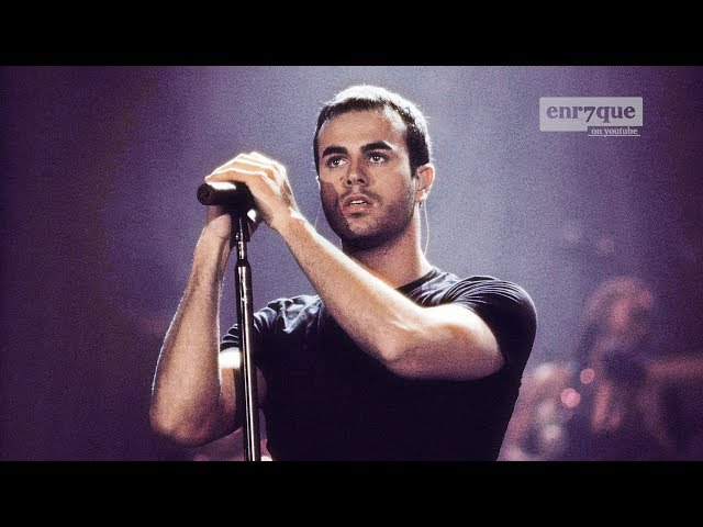 Enrique Iglesias - Sad Eyes (LIVE in Madrid 2000)