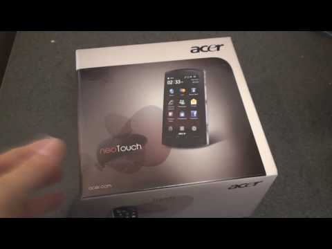 Acer neoTouch S200 Unboxing