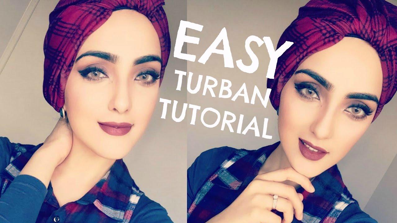 Célèbre How to: Turban Hijab Knot Style | Immy - YouTube TF11