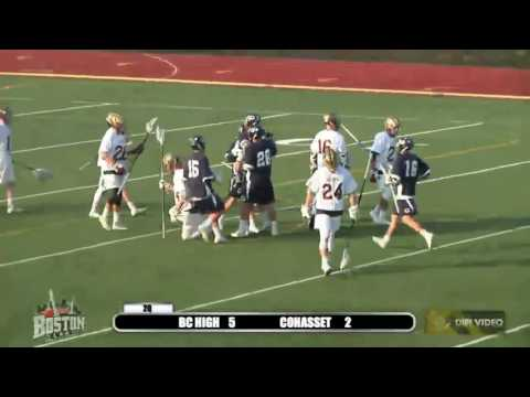 Bostonlax Highlights: BC High vs Cohasset