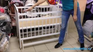 видео Кроватка Антел