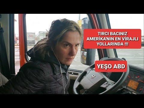 TIRCI BACINIZ AMERIKA'NIN EN VIRAJLI YOLLARINDA !!!