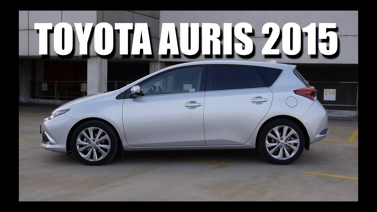 toyota auris 2015 1 2 cvt pl test i jazda pr bna youtube. Black Bedroom Furniture Sets. Home Design Ideas