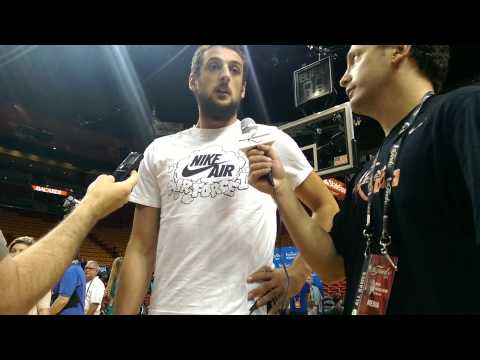 Marco Belinelli On His Improved Shooting With The Spurs
