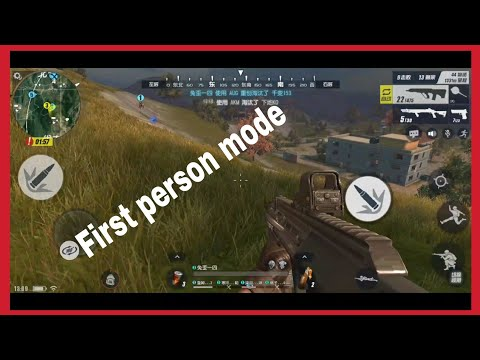 Rules of survival first person mode