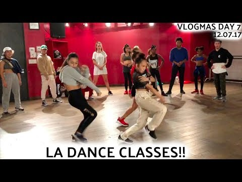 LA DANCE CLASSES!! VLOGMAS DAY 7 | Nicole Laeno