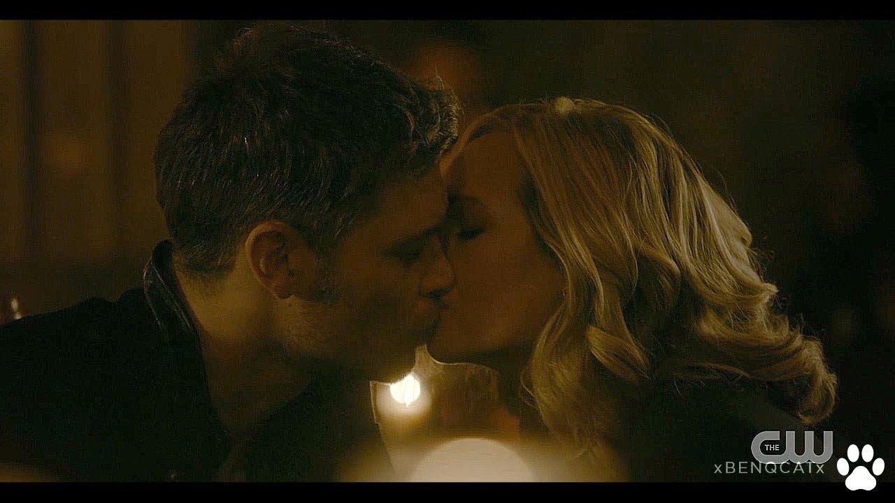 The Originals 5x13 Klaus And Caroline Kiss And Say Goodbye Final Klaroline Scene Youtube