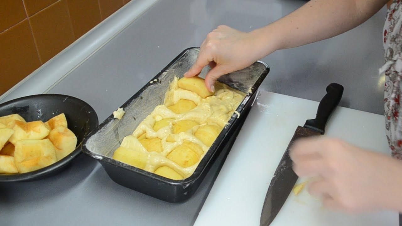 Bizcocho de manzana con thermomix f cil y esponjoso youtube - Pure de castanas y manzana ...