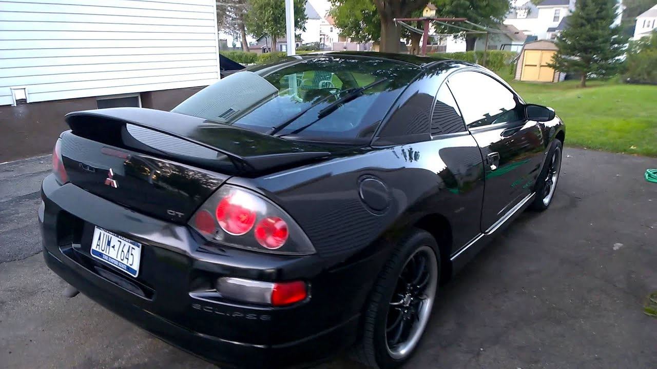 2000 Mitsubishi Eclipse GT, Turtle Wax Black Box - YouTube