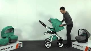 Детская коляска Riko Nano Alu