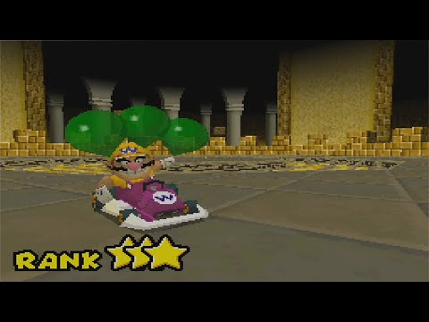 Mario Kart DS All Missions 3 Stars