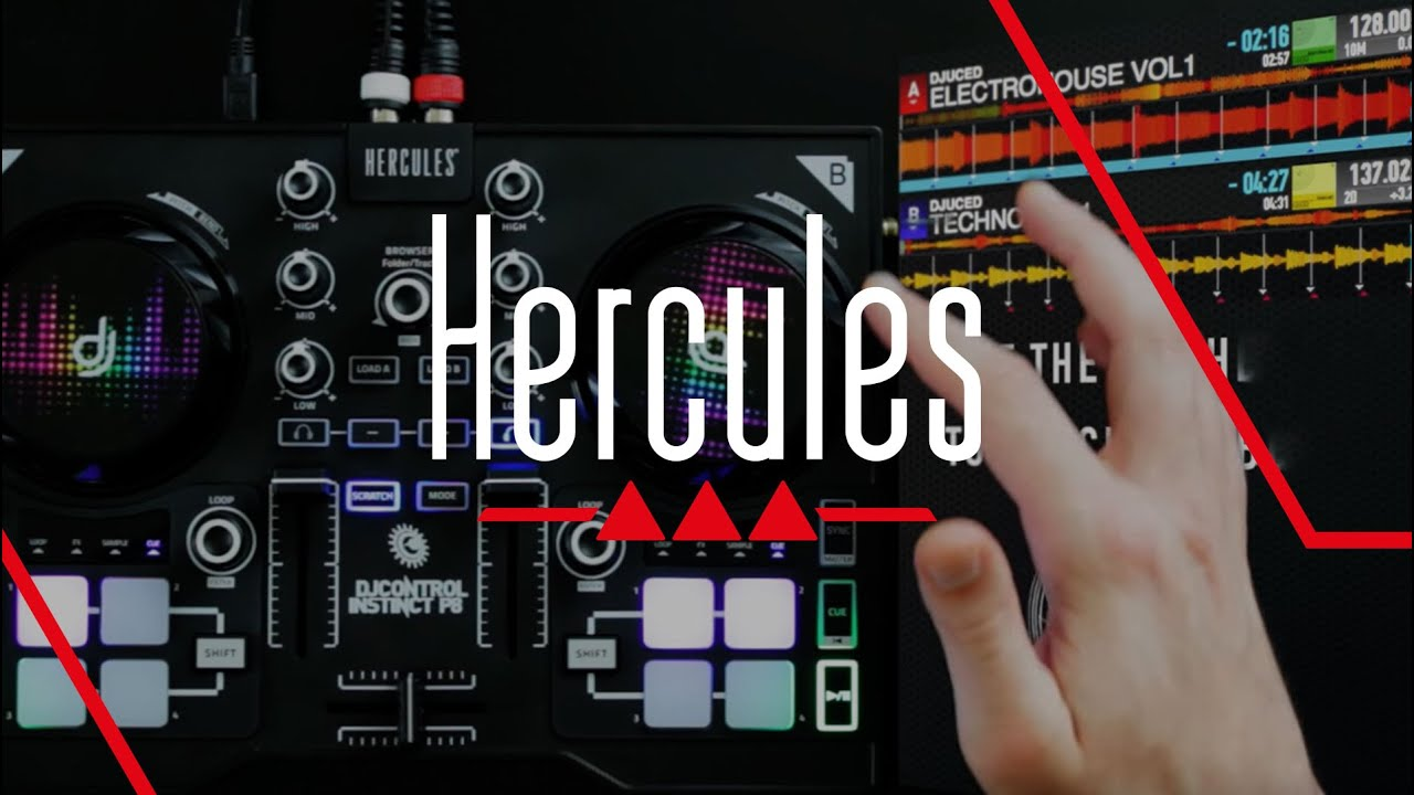 Hercules dj control instinct software download mac