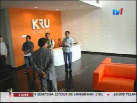 RTM1 - Melawat KRU Studios