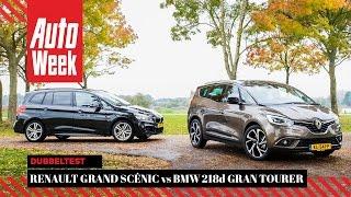 Renault Grand Scénic vs BMW 2-serie Gran Tourer - AutoWeek Dubbeltest