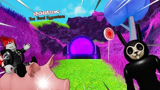 Roblox : Time Travel Eggventures 🥚🐇 (เนื้อเรื่อง) ขี่หมูผจญภัยตามหาไข่ จากกระต่ายปีศาจ !!