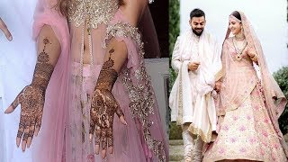 6 Most Popular Bollywood Brides & Their Mehndi Designs | Anushka Sharma, Aishwarya Rai, Bipasha Basu