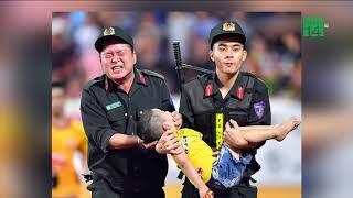 Tranh cãi việc chiến sĩ cảnh sát chịu đau để cứu trẻ bị co giật   VTC14