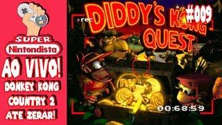 Live! Donkey Kong Country 2 - ATÉ ZERAR! - Super Nintendista!