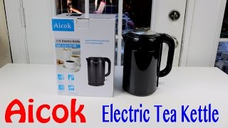 😍 AICOK ❤️ Electric Tea Kettle -   Review ✅