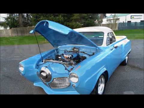 1951 Studebaker Commander Pickup conversion