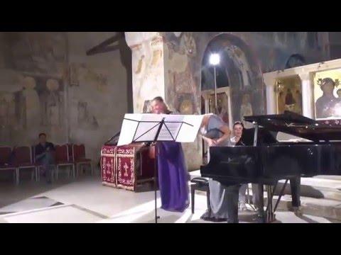 Sihana Badivuku-Hodza and Maja Kastratovic at Ohrid summer 2015 (2)