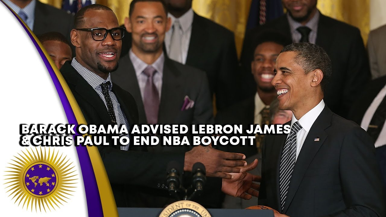 Barack Obama Convinced LeBron James & Chris Paul To End NBA Boycott In Exchange For Voting Locat
