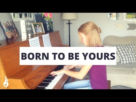 Born to Be Yours - Imagine Dragons | Cover by The Piano Gal
