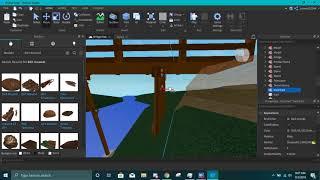 Roblox Studio - Buliding a Bridge Model. (Part 5)
