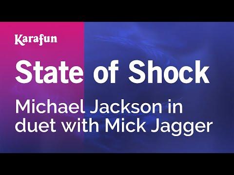 Karaoke State Of Shock - Michael Jackson *