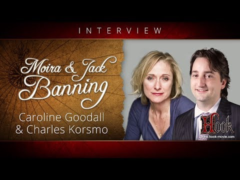 HOOK  with The Banning Family  Caroline Goodall & Charles Korsmo