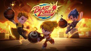 Blast Zone! Tournament Gameplay - PC - STEAM - 1st Play! ONLINE Multiplayer Bomberman Clone!