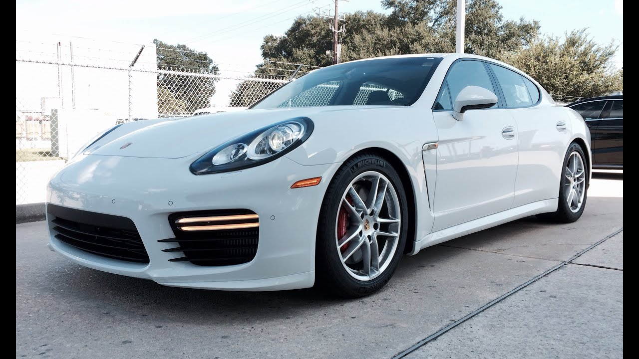 2015 Porsche Panamera Turbo Full Review Exhaust Start Up  YouTube