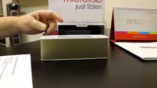 Microlab MD215 NFC Portable Bluetooth Speaker Product Review