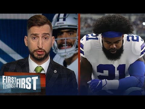 Cowboys showed no ability to win when Zeke doesn't play well - Nick | NFL | FIRST THINGS FIRST