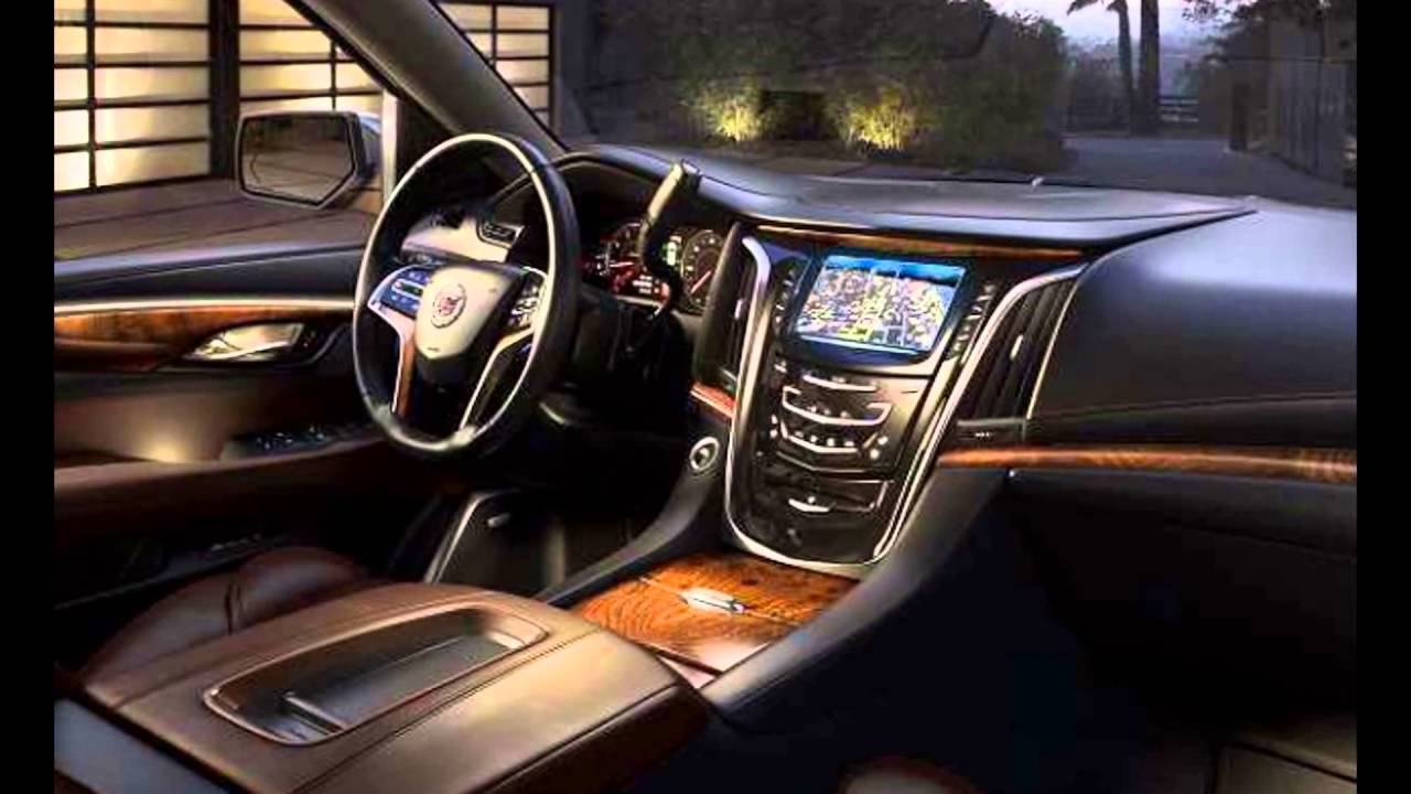 2016 Cadillac Escalade Interior >> 2016 Cadillac Escalade Interior Youtube