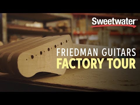 Friedman Guitar Factory Tour