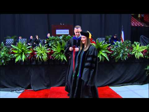 May 2015 Hooding Ceremony