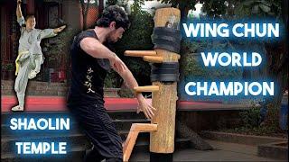 I WON International Wing Chun Competition @ Shaolin Temple