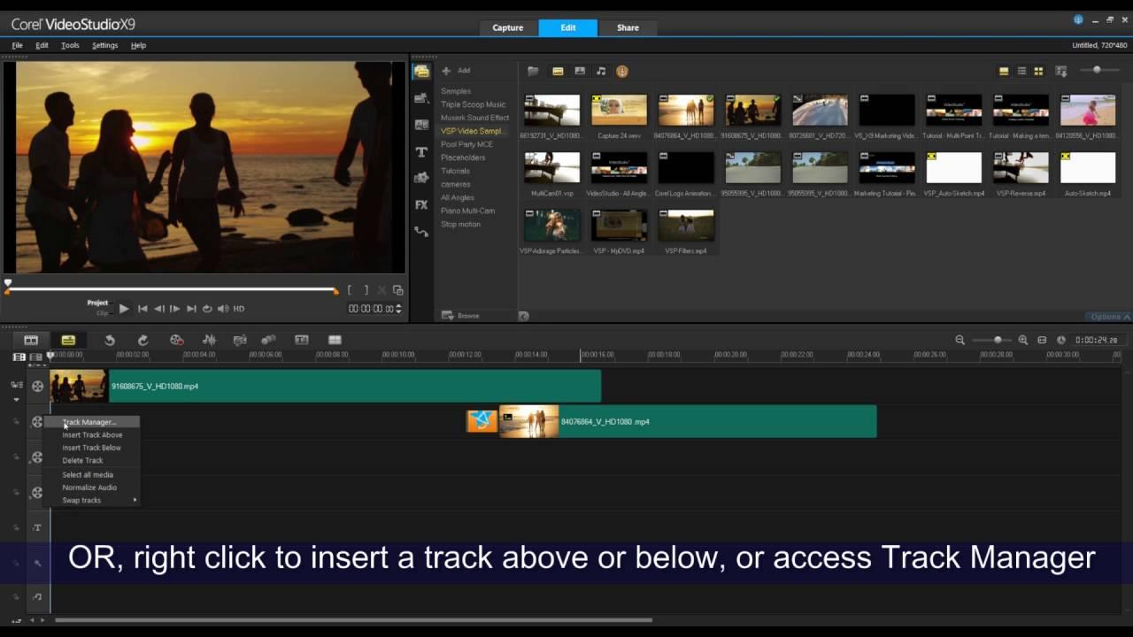 order Corel VideoStudio Pro X7