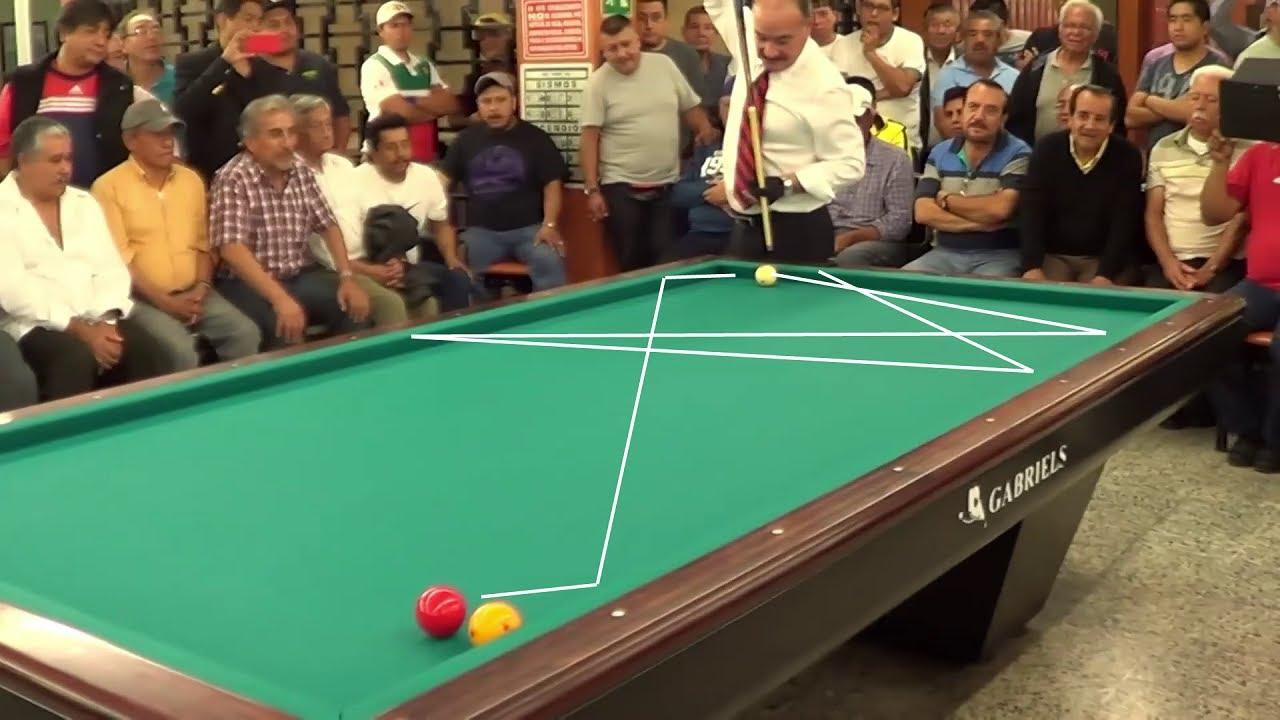3 Cushion Billiards Trick Shots T.Blomdahl Daniel Sanchez R.Rojas Bida 3c